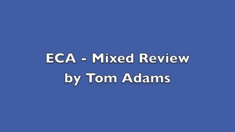 Thumbnail for entry ECA Prep - Mixed Review
