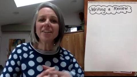 Thumbnail for entry Writing Reviews