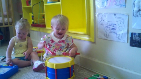 Thumbnail for entry One-Year-Old Drummer