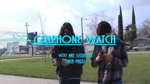 Thumbnail for entry Cell phone watch
