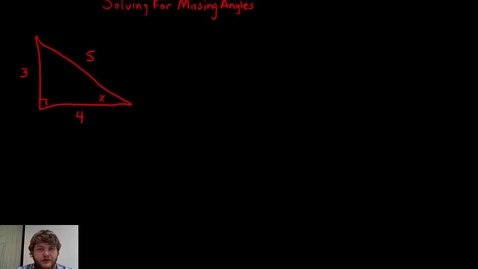 Thumbnail for entry 6.8 Solving for Missing Angles