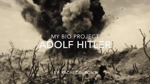 Thumbnail for entry Hitler by Rachel