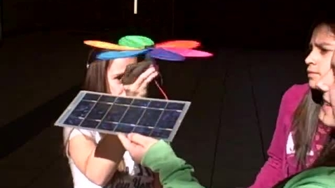 Thumbnail for entry Solar Propeller Demonstration