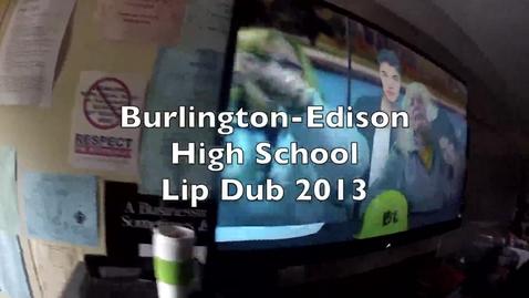 Thumbnail for entry Burlington High School Lip Dub