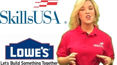 Thumbnail for entry SkillsUSA and Lowe's Spark Video