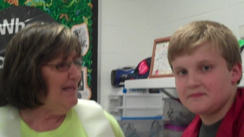 Thumbnail for entry Interview with Mrs. Easley