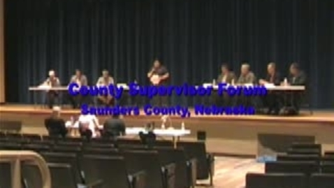 Thumbnail for entry County Supervisor Candidate Forum