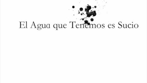 Thumbnail for entry Q2 Spanish PSA (Limpio Agua)