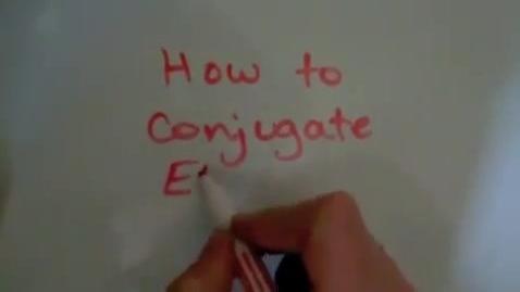 Thumbnail for entry French Present Tense -ER Verb Conjugation (Regular)