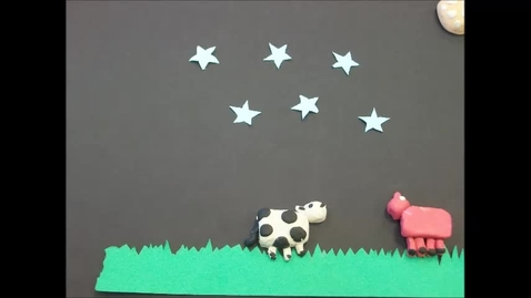 Thumbnail for entry 2014 JMS Claymation Did the Cow Make It Over the Moon?