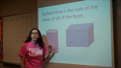 Thumbnail for entry Surface Area - Triangular Prism