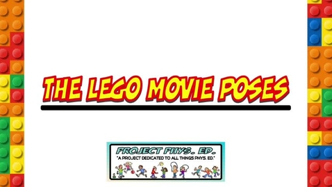 Thumbnail for entry LEGO Movie Poses