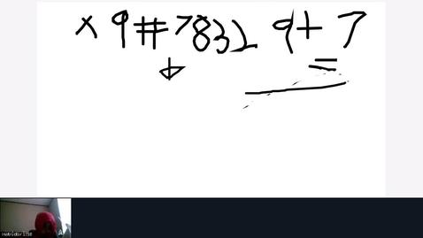 Thumbnail for entry Rec - 28 Nov 2020 10:22 - baldis math.mp4