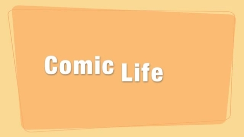 Thumbnail for entry comic Life - Tutoriel