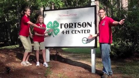 Thumbnail for entry Environmental Education-Fortson 4-H Center