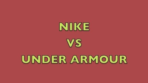 Thumbnail for entry Nike vs Under Armour-A Modern Day Fairy Tale Based on Snow White