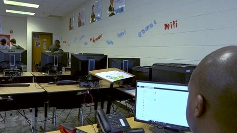 Thumbnail for entry Teacher Scene