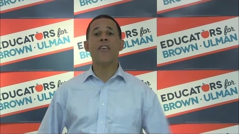 Thumbnail for entry  A Message from Lt. Gov. Anthony Brown on Educator Salaries