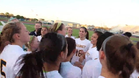 Thumbnail for entry Lionettes beat crosstown rival, advance to regionals