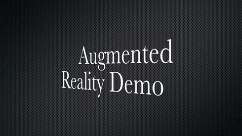 Thumbnail for entry Augmented reality