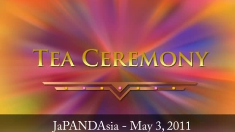 Thumbnail for entry Tea Ceremony