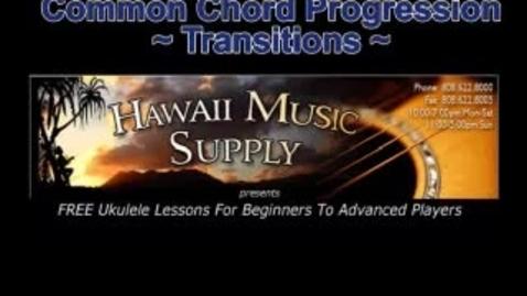 Thumbnail for entry Fun Ukulele Chord Progression - Free Ukulele Lessons