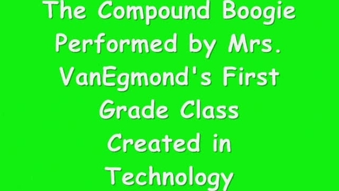 Thumbnail for entry Compound Word Boogie