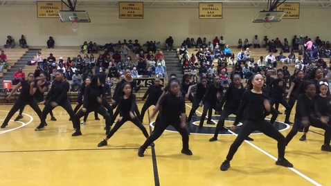 """Thumbnail for entry Level Up - Cierra Nisa House and the Manning Elementary School Dancers """"The Dream Team"""" #halftime"""