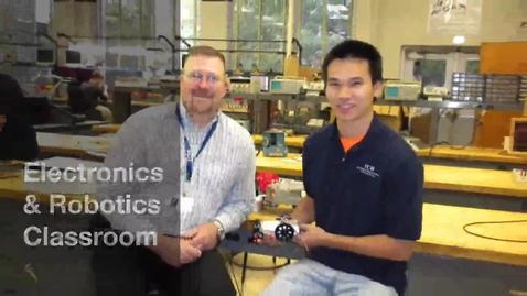 Thumbnail for entry TCHS Pickering_Electronics&Robotics_Classroom
