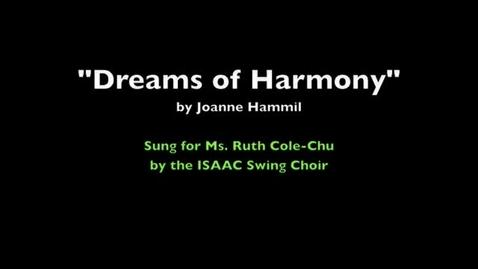 Thumbnail for entry Dreams of Harmony