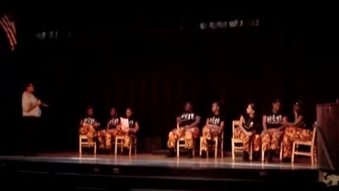 Thumbnail for entry FCAT pep rally - steppers