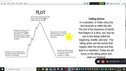 Thumbnail for entry Plot Mini Lesson Falling Action