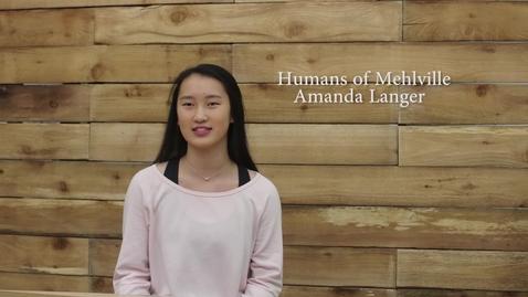 Thumbnail for entry Humans of Mehlville - Amanda Langer