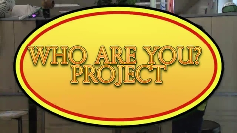 Thumbnail for entry Who Are You?