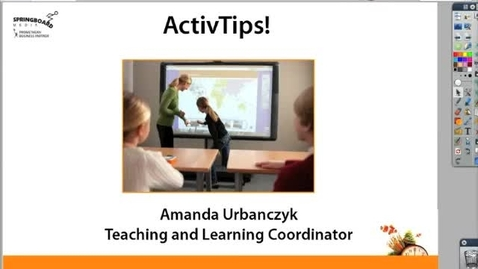 Thumbnail for entry ActivTips - Adding Text and Handwriting Recognition