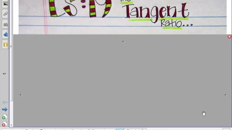 Thumbnail for entry Lesson 19 Tangent Ratio