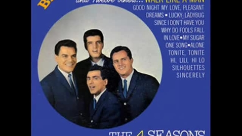 Thumbnail for entry Why Do Fools Fall In Love - The Four Seasons (1962)