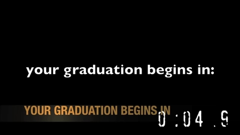 Thumbnail for entry Graduation Video