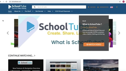 Thumbnail for entry How to access Powtoon through SchoolTube
