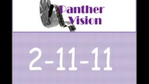 Thumbnail for entry Panther Vision 2-11-11
