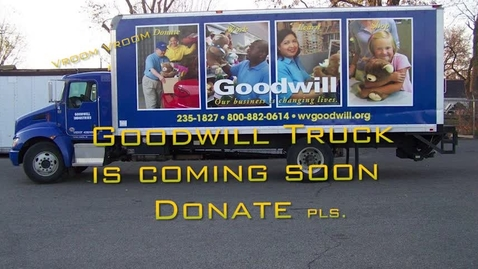 Thumbnail for entry Goodwill Video