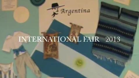 Thumbnail for entry International Fair 2013 ARGENTINA
