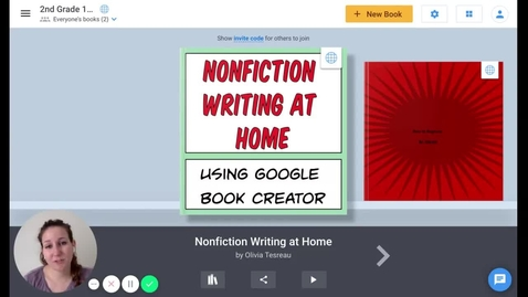 Thumbnail for entry Planning & Starting a New Book in BookCreator