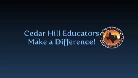 Thumbnail for entry CHISD Educators Make a Difference