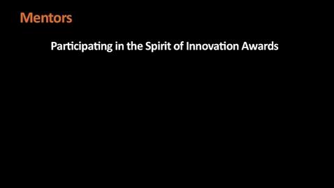 Thumbnail for entry Student Video - Spirit of Innovation Challenge