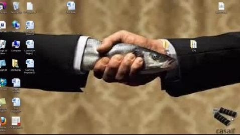 Thumbnail for entry Floppy Fish Handshake
