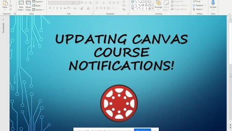 Thumbnail for entry Updating Canvas Course Notifications