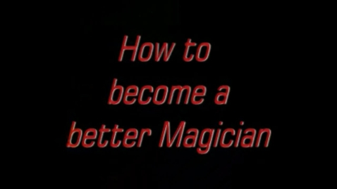 Thumbnail for entry Tonner Bowman - Magician Challenge