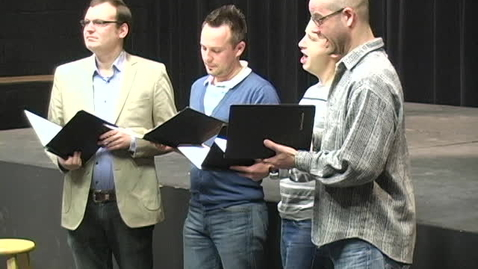 Thumbnail for entry Calmus Quartet