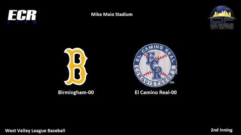 Thumbnail for entry Vs. Birmingham Baseball Part 2